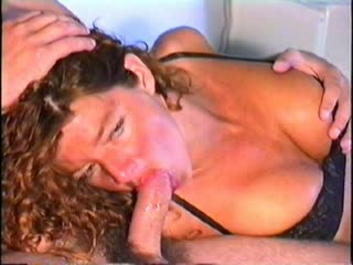 Young wife sucking